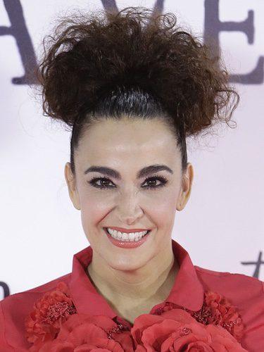 Cristina Rodríguez durante la premiere de 'Un monstruo viene a verme