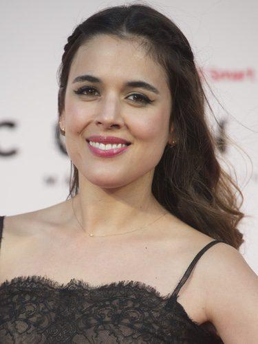 Adriana Ugarte en el estreno de un cortometraje