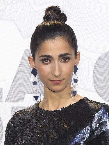Alba Flores en la presentación de la serie 'La casa de papel'