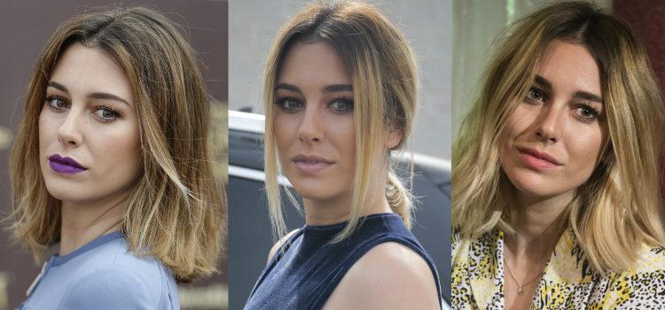 Una base de maquillaje de acabado hidratado es esencial en los looks de Blanca Suárez