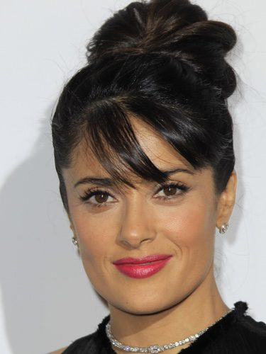 Salma Hayek en los Bristish Fashion Awards 2012