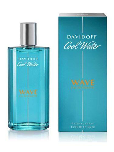 Perfume reinventado Cool Water Wave para el verano 2017 de la marca Davidoff