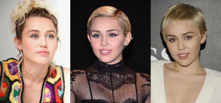 Los labiales rosados y nudes son los favoritos de Miley Cyrus