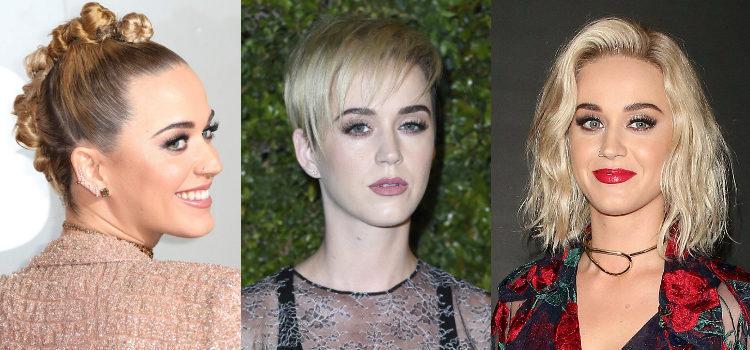 No pueden faltar unas pestañas voluminosas en ninguno de los looks de Katy Perry