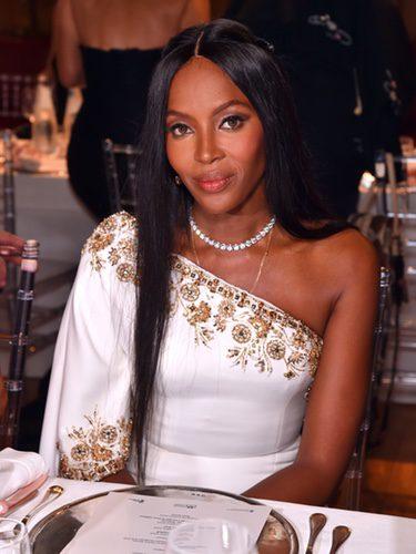 Naomi Campbell en los premios de la moda de Mónaco