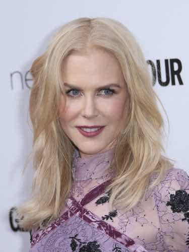 Nicole Kidman con maquillaje natural
