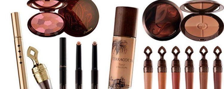 Línea de productos de maquillaje 'Terracota'