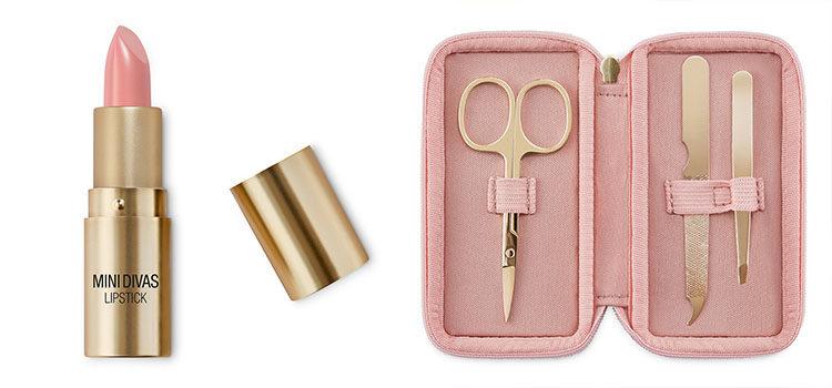 Pintalabios y kit básico de viaje de 'Mini Divas' de Kiko