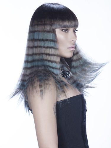 Puedes sacarle partido al cabello largo y crear nuevas formas con mechas