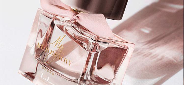 La elegancia y frescura son el elemento clave de la nueva fragancia de Burberry