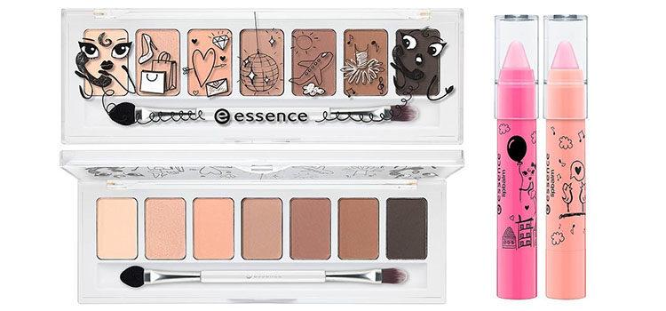 Paleta en tonos nude y labiales de la nueva colección de Essence