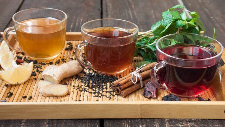 Toma tés para perder peso