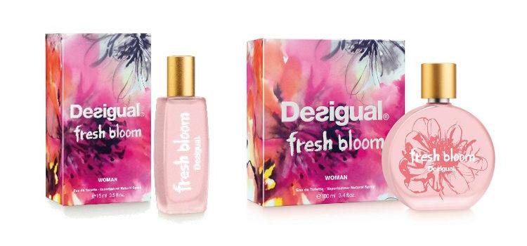 'Fresh Bloom' de Desigual en sus dos presentaciones de 15 y 100 ml