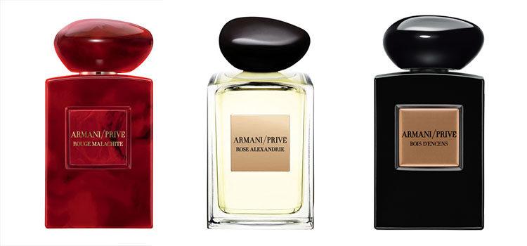 Otros de los perfumes lanzados en la línea de 'Armani Privé'