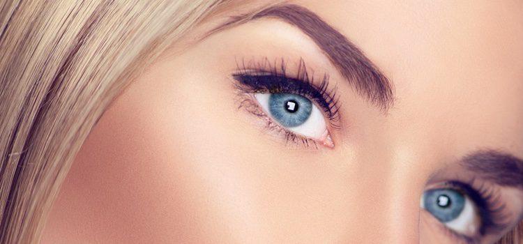 Cada ojo necesita un forma de ceja determinada