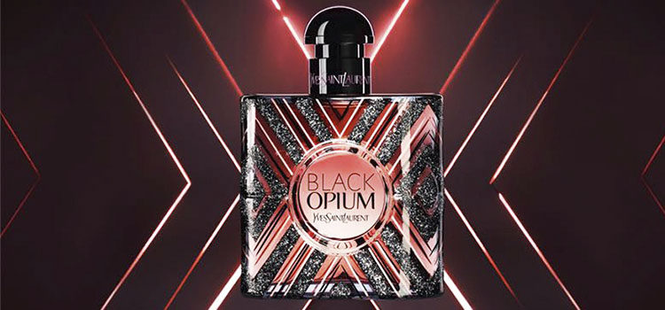 Imagen promocional de 'Yves Saint Laurent Black Opium Pure Illusion'