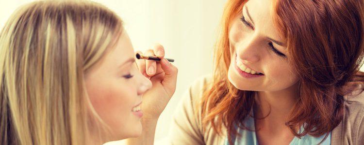 El maquillaje es como un complemento más
