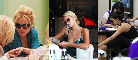 Britney Spears, Paris Hilton y Kim Kardashian