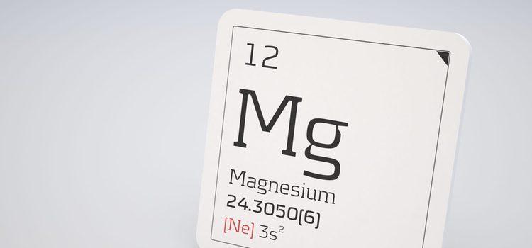 El magnesio es un componente esencial para tu cuerpo