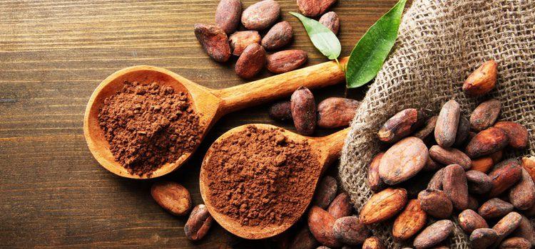 El cacao en polvo contiene una gran cantidad de magnesio