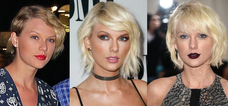 Swift no se suma a la tendencia y prefiere las cejas finas y arqueadas