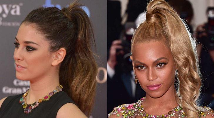 Blanca Suárez (izquierda) y Beyoncé (derecha)