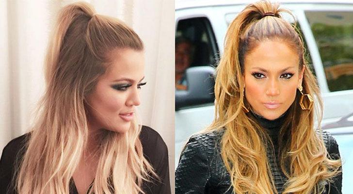 Khloe Kardashian (izquierda) y Jennifer López (derecha)