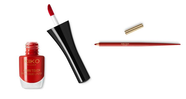Los labiales de la colección de Kiko 'Asian Touch'