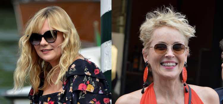 Kirsten Dunst y Sharon Stone necesitan un peine
