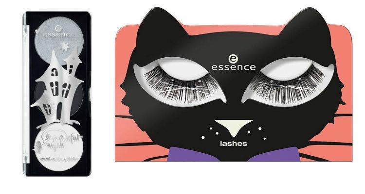 La paleta de sombras de ojos y las pestañas postizas de la colección de Essence 'Bootiful Nigths'