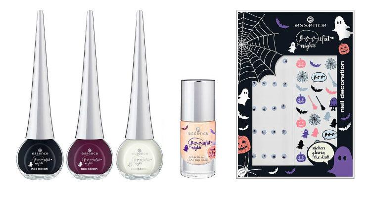 Los esmaltes de uñas y las stickers de la colección de Essence 'Bootiful Nigths'