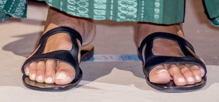 Los pies de Máxima de Holanda