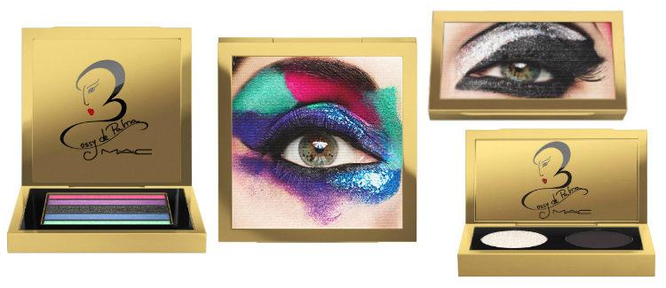 Las sombras de ojos de la colección MAC x Rossy de Palma