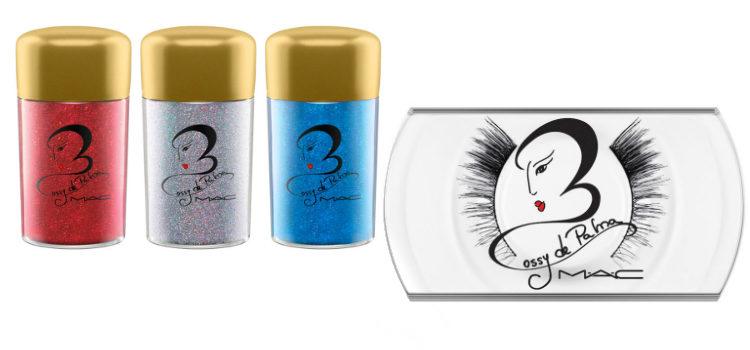 El polvo glitter y las pestañas postizas de la colección MAC x Rossy de Palma