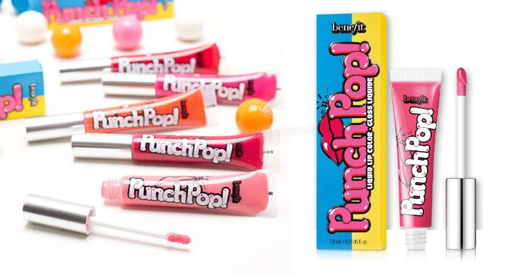 'Punch Pop', los nuevos labiales gloss de Benefit