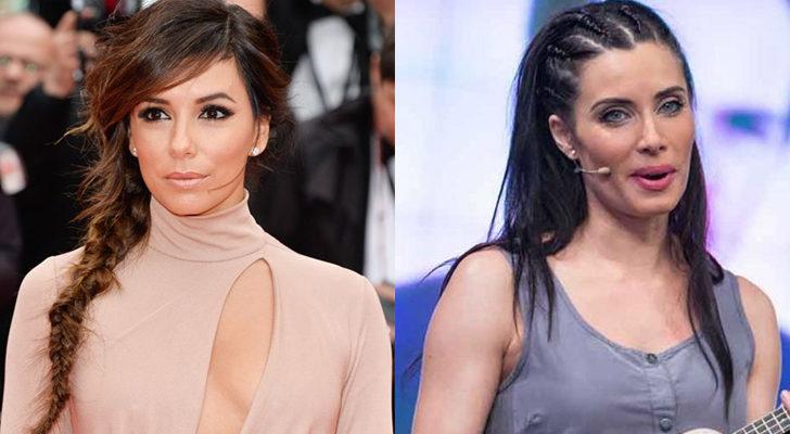 La actriz Eva Longoria (Izquierda) y la presentadora Pilar Rubio (Derecha)