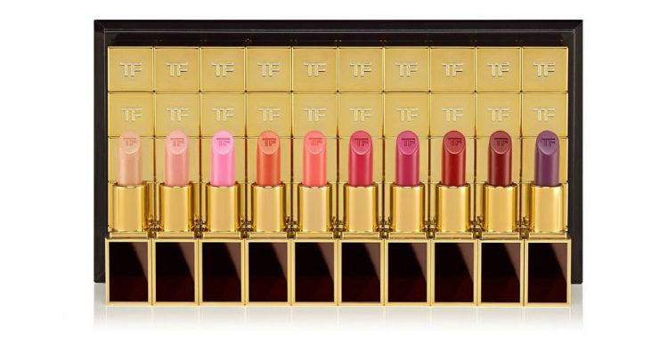 El pack de barras de labios '50 Boys' de Tom Ford