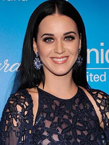 Katy Perry, en un gala benéfica de UNICEF