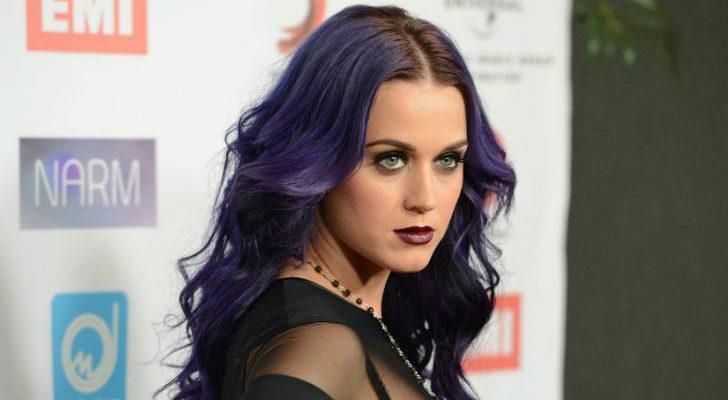 Katy Perry, una fanática de los tintes menos comunes