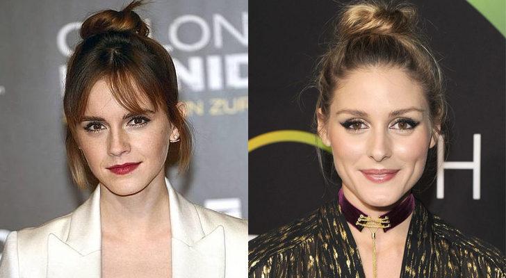 Emma Watson (izquierda) y Olivia Palermo (Derecha)