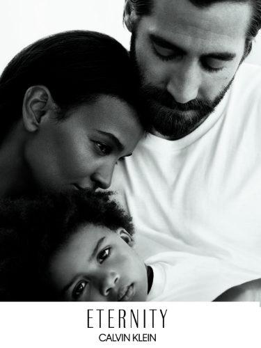 Jake Gyllenhaal, Liya Kebede y Leila para 'Eternity' de Calvin Klein