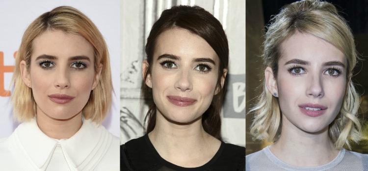 Para devolverle color al rostro Emma Roberts apuesta por unas mejillas rosadas