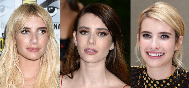 Emma Roberts completa sus looks con unos labios nude
