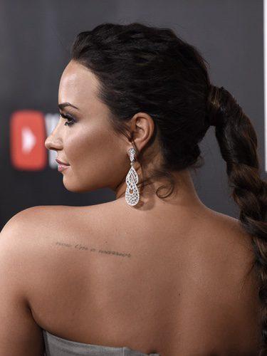 El espectacular look de Demi Lovato