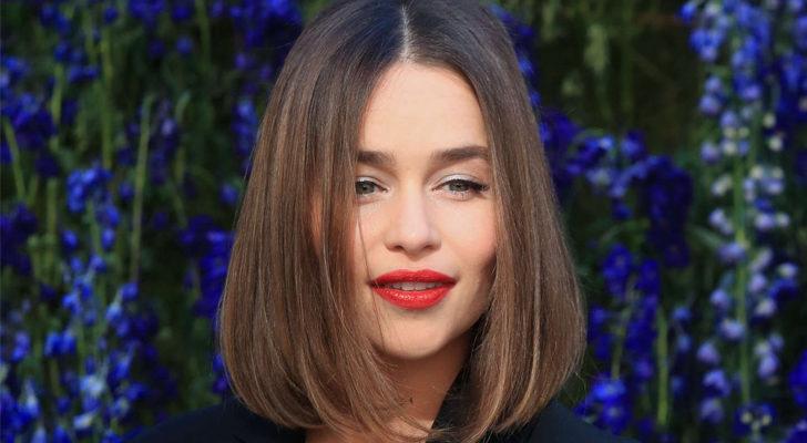 Emilia Clarke, en un evento de Dior
