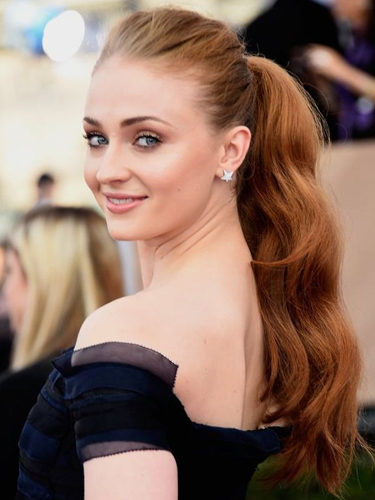 Sophie Turner, en los Screen Actors Guild Awards