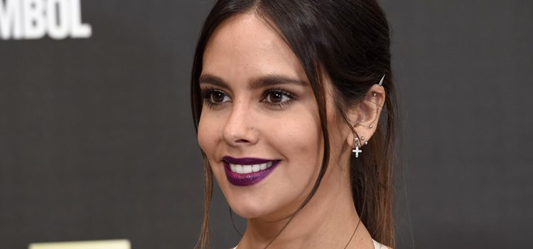 Cristina Pedroche con labios púrpura