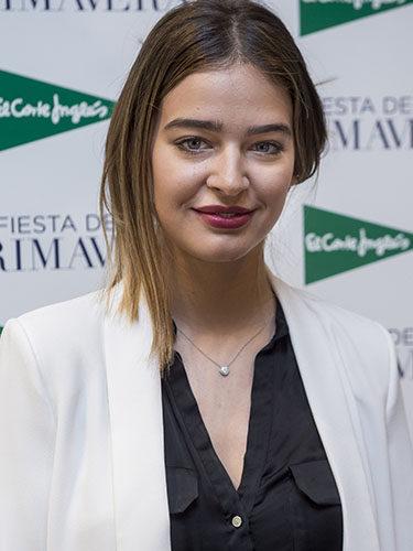Laura Escanes, en la Fiesta de Primavera de El Corte Inglés