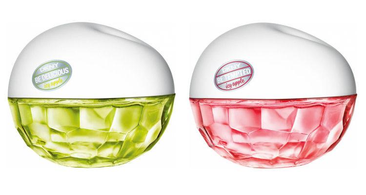 'Be Delicious Icy Apple' y 'Be Tempted Icy Apple', los nuevos perfumes de DKNY