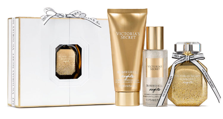 El set de regalo insignia de 'Bombshell Nights' de Victoria's Secret